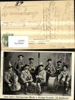 180692,Hartl Zellers Ensemble Die Gaudibuam Männer Instrumente - Ansichtskarten