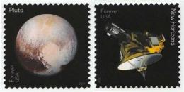 Etats-Unis / United States (Scott No.5077-78 - Pluto Explorer) [**] - Etats-Unis