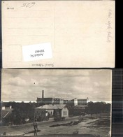 189465,FotoAK Sokal Galizien Lwiw Abgebrannte Fabrik Ukraine - Ansichtskarten