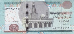 EGYPT 5 EGP 2013 P-63 NEW SIG/ RAMEZ #22 REPLACEMENT 700 UNC NEW DESIGN */* - Egypt