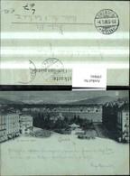199841,Mond Litho AK Geneve Genf Teilansicht La Place Des Alpes - GE Genève