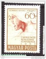 Hongrie, Hungary, Léonard De Vinci, Leonardo Da Vinci - Arte