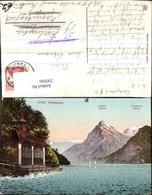 200886,Tellskapelle Sisikon Vierwaldstättersee Gipfelkarte Kt Uri - UR Uri
