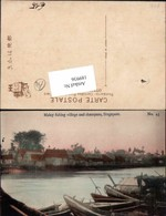 189936,Malaysia Malay Fishing Village Shampans Singapore Singapur Asia RRR - Malaysia