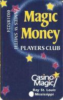 Casino Magic - Bay St. Louis, MS - Slot Card - Casino Cards