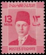 EGYPT - Scott #213 King Farouk / Mint H Stamp - Egypt