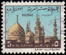 EGYPT - Scott #891 Al Azhar Mosque (*) / Used Stamp - Egypt