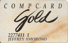 Claridge Casino - Atlantic City, NJ - Slot Card - ´smaller, Friendler And So Much More´ - PRINTED INFO - Casino Cards