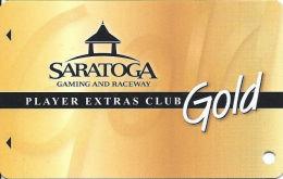 Saratoga Casino NY - Slot Card  (BLANK) - Casino Cards