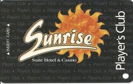 Sunrise Casino - Las Vegas, NV - Slot Card - Casino Never Opened, Sold Before Opened  (BLANK) - Casino Cards