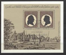 DDR - Block Mi-Nr. 66 - 150. Geburtstag Von Johann Wolfgang Von Goethe Ersttags - Gestempelt BERLIN - Blocks & Kleinbögen