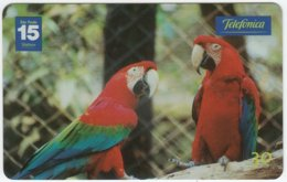 BRASIL C-668 Magnetic Telefonica - Animal, Bird, Parrot - Used - Brésil