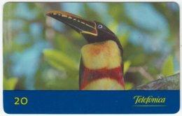 BRASIL C-669 Magnetic Telefonica - Animal, Bird - Used - Brésil