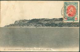 LE HAVRE Sainte ADRESSE - N°132 - 5c. Albert Croix-Rouge Obl. Sc LE HAVRE (SPECIAL- Sur C.P. Du 24-9-1915 Vers Bordeaux - WW I