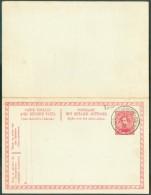 LE HAVRE Sainte ADRESSE - E.P. Carte Double 10 + 10 Centimes Obl. Sc Ste-ADRESSE POSTE  BELGE Du 25-I-1916 - 11212 - WW I