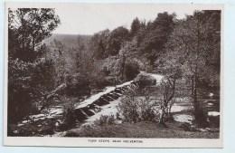 Torr Steps Near Dulverton - England
