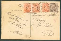 LE HAVRE Sainte ADRESSE - Affr. Emission 1915 à 5 Centimes Obl. Sc Ste-ADRESSE Poste Belge Sur C.P. (Palais Du Commerce - WW I
