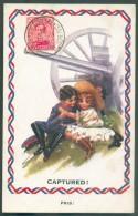 LE HAVRE Sainte ADRESSE - 10 Centimes EMission 1915 Obl. Sc Ste-ADRESSE Poste Belge Sur C.P. (Captured Enfants Pris) Du - WW I