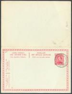 LE HAVRE Sainte ADRESSE - E.P. Carte Double 10 + 10 Centimes Obl. Sc Ste-ADRESSE POSTE  BELGE Du 15-I-1916 - 11225 - WW I