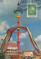 D24364 CARTE MAXIMUM CARD 1958 MOÇAMBIQUE - WORLD EXPO 1958 BRUSSELS CP ORIGINAL