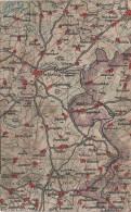 Wona Karte Blatt 923 Schleiz Mühltroff Gefell Zeulenroda Tanna Reuth Neundorf Kirschkau Tegau Plothen Oschitz Schönberg - Kirschkau