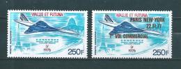 Wallis Et Futuna  PA De 1976/77  N°71 Et 75  Neufs  Tres Petite Trace De Charnière - Airmail