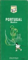 1-GUIDE VERT-MICH-1970-1e EDITION-PORTUGAL-MADERE-TBE - Michelin (guides)