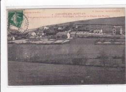 CHISSEY-EN-MORVAN : Vue Panoramique Sur Le Chalet Américain, La Cure Et Le Chalet Des Roches - Très Bon état - Francia