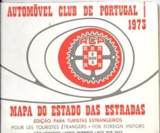 1-GUIDE 1973-AUTOMOBILE CLUB Du PORTUGAL-BE-RARE - Tourisme