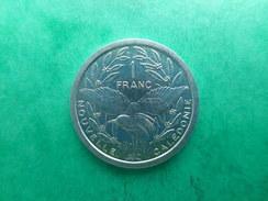 New Caledonia 1 Franc 1985 - Nouvelle-Calédonie