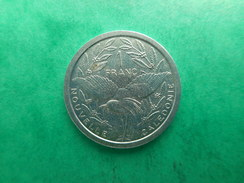New Caledonia 1 Franc 1983 - Nouvelle-Calédonie