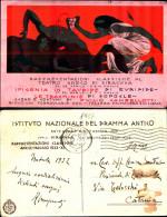 895k) Cartolina Di Siracusa-rappresentazioni Classiche Al Teatro Greco-firmata-viaggiata - Siracusa