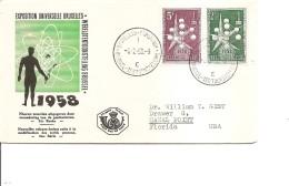 Exposition De Bruxelles -1958( Commémoratif De Belgique De 1958 à Voir)
