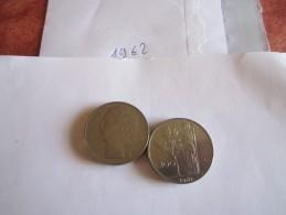 --1--PIECE--100--LIRE-ITALIE-1962-----TTB-SUP---- - 100 Lire