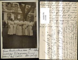 215380,Foto Ak K.k. Lazarett Rotes Kreuz Pflegerinnen Gruppenbild Zabern 1915 - Oorlog 1914-18