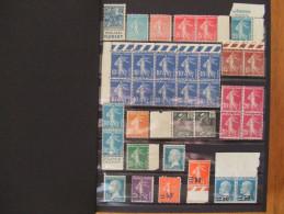 VEND SUPERBE COLLECTION DE FRANCE NEUFS LUXES, 1920-1952, COTE + 1500 €, BONNES VALEURS !!!
