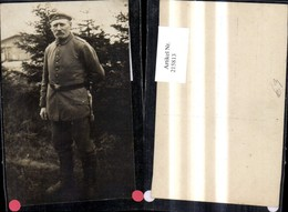 215813,Foto Ak K.k. Soldat Uniform Kampfmesser Messer - Guerre 1914-18