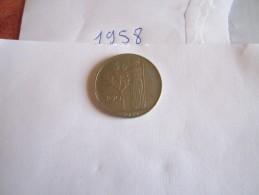 --1--PIECE--100--LIRE-ITALIE-1958-----TTB-SUP---- - 100 Lire