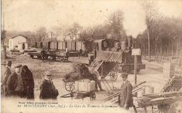 17- Montendre – La Gare Du Tramway économique   (carte Peu Courante, Très Animée) - Montendre
