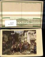 216558,Tiroler Freiheitskampf Künstler Ak Franz V. Defregger Letztes Aufgebot - Geschichte