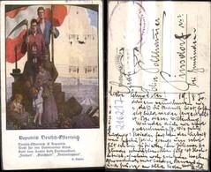 216217,Künstler Ak Republik Deutsch-Österreich Spruch Text Pub Göth 606 - Geschichte
