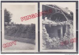 Au Plus Rapide Preuilly Cher Poste Allemand Ligne De Démarcation Et Bombardement Juin Et été 1940 - 1939-45