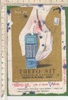 PO5816D# CARTA ASSORBENTE - PUBBLICITA' FARMACEUTICA TREFO-SIT - Carte Assorbenti