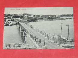 BERMUDA / BERMUDES    1902  SOMMERSET BRIDGE    CIRC NON EDITION - Bermudes