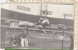 PO5832D# FOTOGRAFIA Anni '60 - ATLETICA - SALTO IN ALTO - GALLO - Atletica