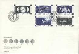 PRIX NOBEL PRIZE NOBELPREIS PHYSICS PHYSIK PHYSIQUE ASTROPHYSICS SWEDEN SUEDE SCHWEDEN 1987 FDC MI 1461 - 1465 - Nobelpreisträger