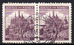 BÖHMEN & MÄHREN 1939 - MiNr: 27 Paar Used - Böhmen Und Mähren