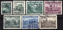 BÖHMEN & MÄHREN 1940 - MiNr: 55-61 Komplett  Used - Böhmen Und Mähren