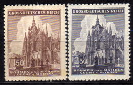 BÖHMEN & MÄHREN 1944 - MiNr: 140 - 141 Komplett  ** / MNH - Böhmen Und Mähren