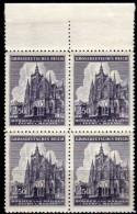 BÖHMEN & MÄHREN 1944 - MiNr: 141  4er Block   ** / MNH - Böhmen Und Mähren